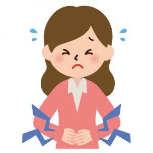 月経前症候群による腰痛