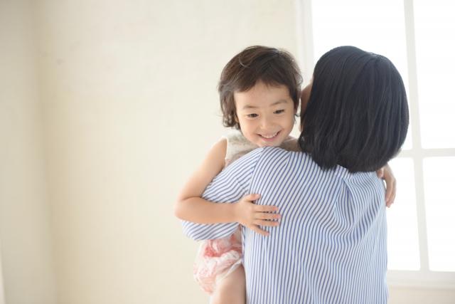 子供の抱っこ