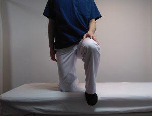 腸腰筋ストレッチ前から